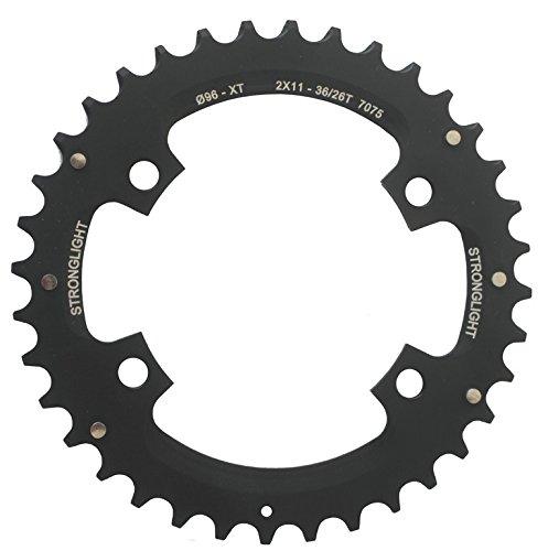 Stronglight MTB Shimano 2x11 Kettenblatt für XT FC-M8000/SLX außen schwarz Ausführung 36 Zähne 2019 Kettenblätter