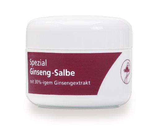 FloraFarm Ginseng-Salbe Spezial, 50 ml: Creme mit Ginseng bei Hautekzemen, Hautirritationen, Schuppenflechte, Neurodermitis, Wunden und...