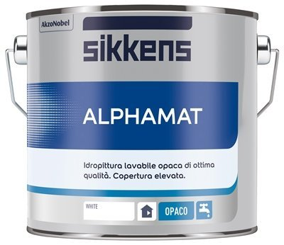 Sikkens Alphamat - Bianco Bianco Lt 15