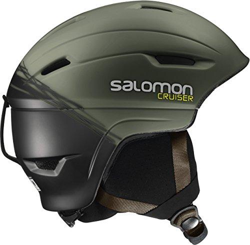 Salomon, Unisex Allround-Ski- und Snowboardhelm, EPS 4D, Gr. S, Kopfumfang 53-56 cm, CRUISER 4D, Khaki/Schwarz, L39035300