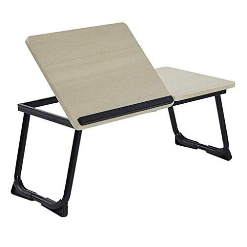 """Lapdesks Tragbarer Faltbarer Tisch Bettklappbarer Laptop-Schreibtisch mit Anti-Rutsch-Bar-Anzügen für Ipad 14-17 """"Notebook (Farbe : B)"""