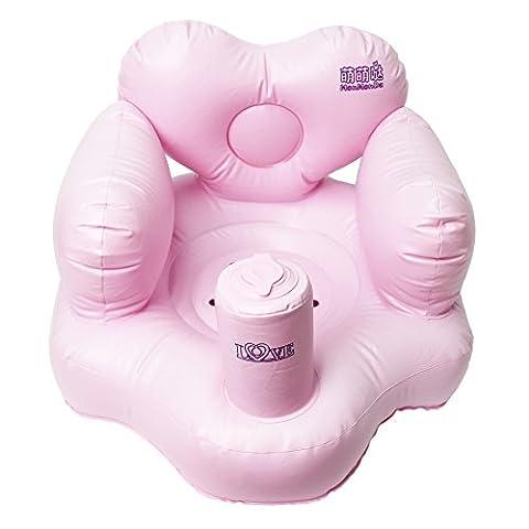 Gonflable Douche - Signstek Siège Gonflable de Bébé pour Prendre
