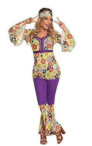 Boland- Hippie Figlia dei Fiori Blossom Woman Costume Donna per Adulti, Multicolore, M, 83841