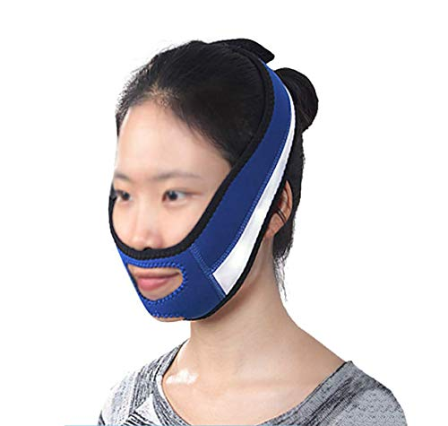 Thin Face Bandage Face Slimmer Doppelkinn loswerden V-Linie Gesichtsformen Kinn Wangenlifting Anti-Falten-Lifting-Gürtel Gesichtsmassage-Tool für Frauen und Mädchen