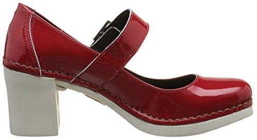 Art - Cannes 557f, Scarpe col tacco Donna Rouge (Charol Red)