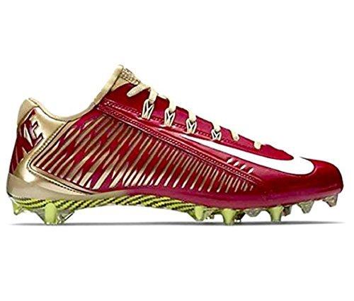 Nike Vapor Carbon Elite TD Mens Football Cleats (14, Team Red/University Gold/White)
