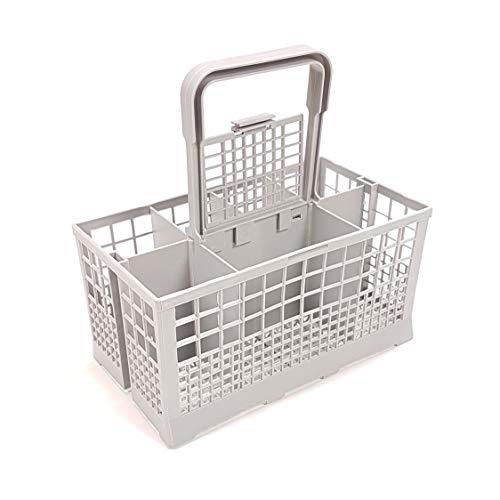Besteckkorb Universal passend für viele Spülmaschinen Maße: 240 x 140mm - Kunststoff grau