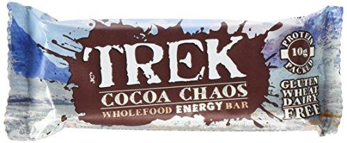 TREK Bar Cocoa Chaos, 16er Pack (16 x 55 g)