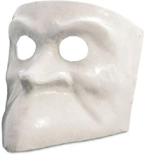 Dell Kostüme Arte Commedia (Venezianische Maske Bauta bianca in weiß zu Karneval)