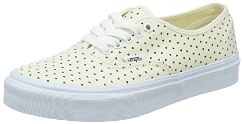 Vans U Authentic Slim Micro Hearts Sneakers, Unisex Beige (micro Hearts) Class)