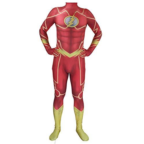 Cosplay Kleidung Die Flash Erwachsene/Kid Kleidung Lycra Kostüm Weihnachten Halloween Anime - Kid Flash Kostüm