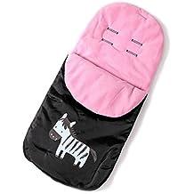 ZEEUPAI - Saco impermeable a prueba de viento de cochecito carrito silla para bebé invierno