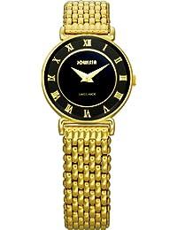 Jowissa J2.040.S - Reloj para mujeres, correa de acero inoxidable color dorado