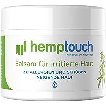 Eczema crema – 40-60 mg CBD – Pomata all'olio di canapa per la pelle irritata – Cannabis coltivata con metodi biologici – Hemp cream – 50 ml