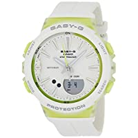 Casio Womens Quartz Watch, Analog-Digital Display and Resin Strap BGS-100-7A2