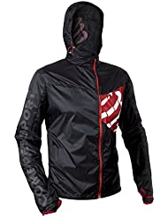 TRAIL HURRICANE JACKET BLACK giacca antivento traspirante M