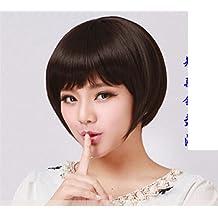 peluca flequillo/Plancha de pelo invisibles-B