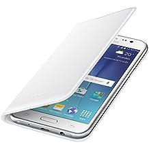 Samsung BT-EFWJ500BWEGWW - Funda tipo flip, tarjetero para Samsung Galaxy J5 (2015), color blanco