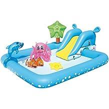 Piscina gonfiabile con scivolo - Gonfiabili piscina amazon ...