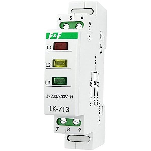 LED Kontroll Lampe grün Phasenprüfer Phasenkontrolleuchte Green KLI Ideal Kanlux