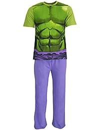Mens Vengadores Hulk de la novedad del vestido de lujo pijamas - Tamaño S-XL