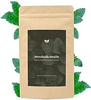 DIYer® - Mentholkristalle Saunakristalle Minzkristalle Eiskristalle Menthol – 100% reines Minzöl - pharmazeuti