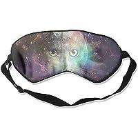 Eye Mask Eyeshade Cat Head Space Sleeping Mask Blindfold Eyepatch Adjustable Head Strap preisvergleich bei billige-tabletten.eu