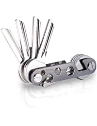 KeyTool Key Organizer Premium - Schlüssel Organizer bis zu 16 Schlüssel & Smartphone Halter & Flaschenöffner & Schlüssel Halter