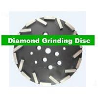 Gowe 25,4cm platorello diamantato per Edco Blastrac
