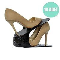 Ayakkabı Rampası Düzenleyici Ayakkabılık Organizeri 10lu 6021