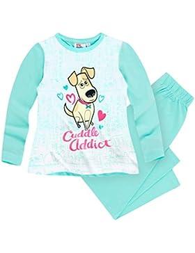 Pets (Secret Life of Pets) Mädchen Pyjama Schlafanzug 2016 Kollektion - mintgrün