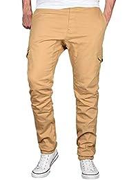 Coton Pantalon Décontracté Mode Hommes Sport Pure Color Les Pantalons de  survêtement Pantalon à Cordon Malloom 7bd2abd47a0