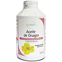 SANON Aceite de Onagra 450 cápsulas de ...