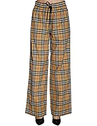 3f81a208001f BURBERRY Femme 8003208 Marron Coton Pantalon