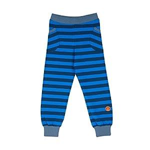 FINKID Streifen Leggings TIIKERI Majolica Blue Gr. 120 130