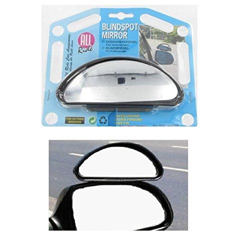 Convexer Blindspiegel Zusatz Spiegel Außenspiegel PKW LKW Caravan toter Winkel