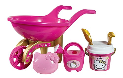 Preisvergleich Produktbild Simba 107138607 - Hello Kitty Schubkarre gefüllt, gold