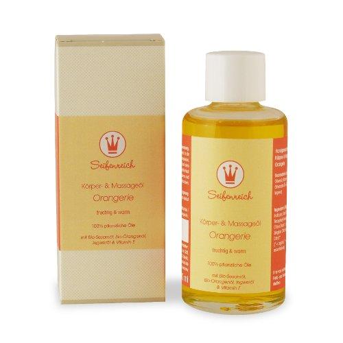 Seifenreich Körper- und Massageöl Orangerie, 1er Pack (1 x 100 ml)