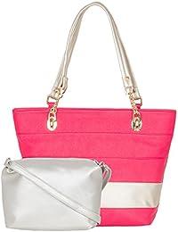 ADISA AD4021 Women Handbag With Sling Bag Combo