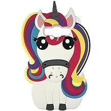 Amazonit Cover J5 2016 Unicorno
