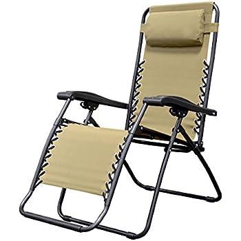 Caravan Canopy Sports Infinity Zero Gravity Chair (36 x 26 x 45  Beige  sc 1 st  Amazon UK & Caravan Canopy Sports Infinity Zero Gravity Chair (36 x 26 x 45 ...