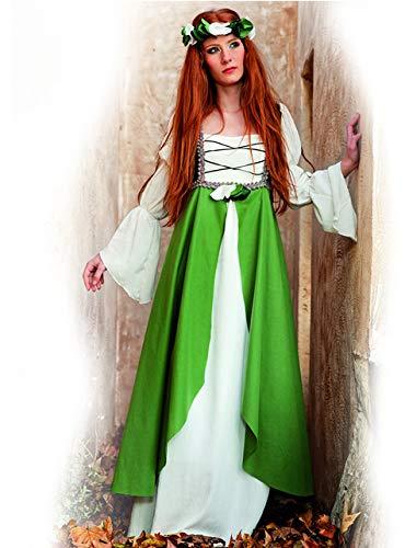 Freunde Für Zwei Kostüm - Limit Mittelalter Hortensia Kostüm (2x große, grün)