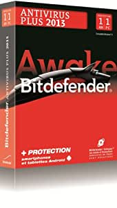 Bitdefender Antivirus Plus 2013 (1 poste, 1 an)