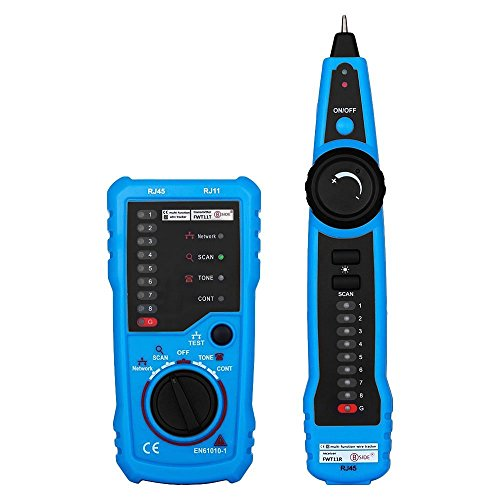 Preisvergleich Produktbild Anpress RJ11RJ45Kabeltester Line Finder Telefon RJ45RJ11Draht Tracker Überprüfen Ethernet LAN Kabel Tester CAT5CAT6Draht Tester