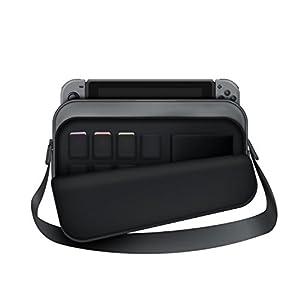 Aufbewahrungsbehälter Tasche für Nintendo-Schalter Nintendo Switch- Maßgeschneiderte Tasche hält Konsolen & Zubehör – GRAU