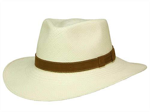 Bigalli Homme Chapeau Traveller Melbourne blanc