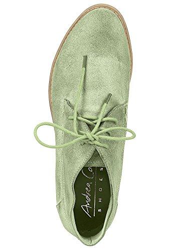 Andrea Conti Schnürer, Scarpe stringate donna Verde (Menta)