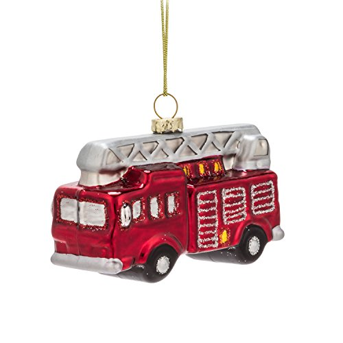Abbott Kollektion Fire Engine Ornament-3