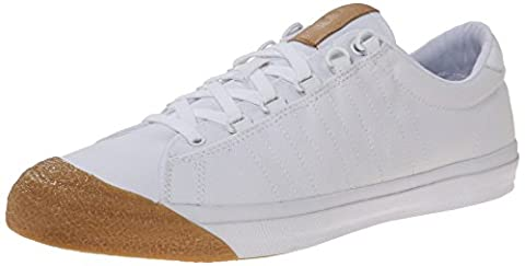 K-SWISS SHOE IRVINE T WHITE/DARK GUM Q2, WHITE/DARK GUM, 42
