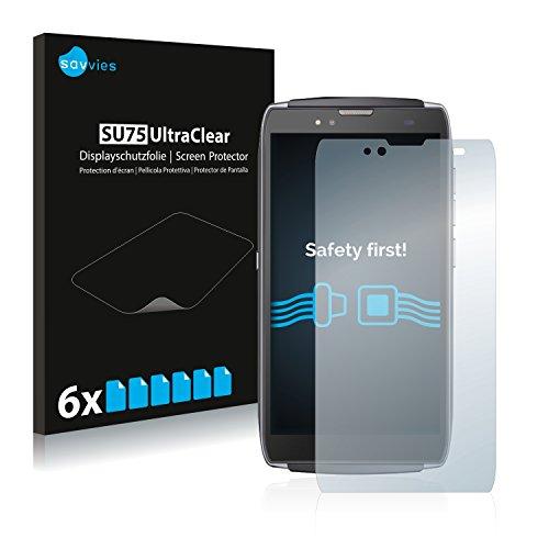 Savvies Schutzfolie für Uhans U300 [6er Pack] Folie Displayschutzfolie - Displayfolie klar